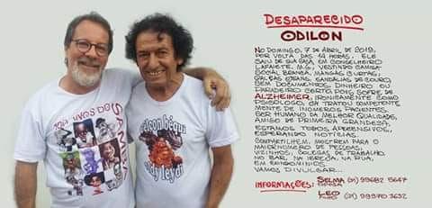 A suspeita é de que senhor José Odilon (68), esteja em Igarapé.